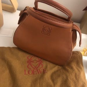 Vintage loewe mini bag